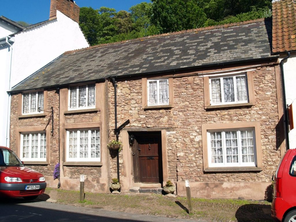 The Oval Dunster microsite Exmoor Character Cottages